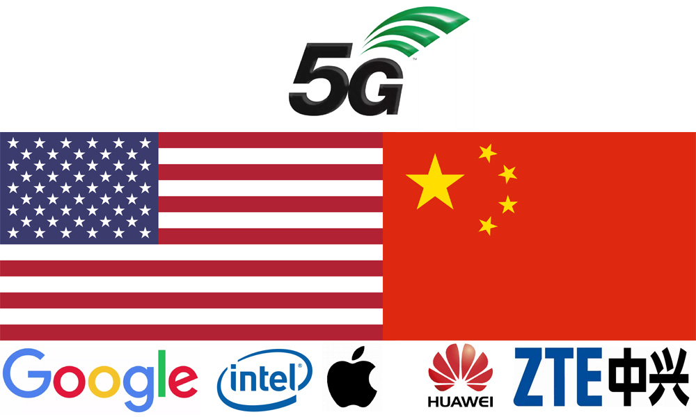 Guerra 5G China Huawei estados Unidos