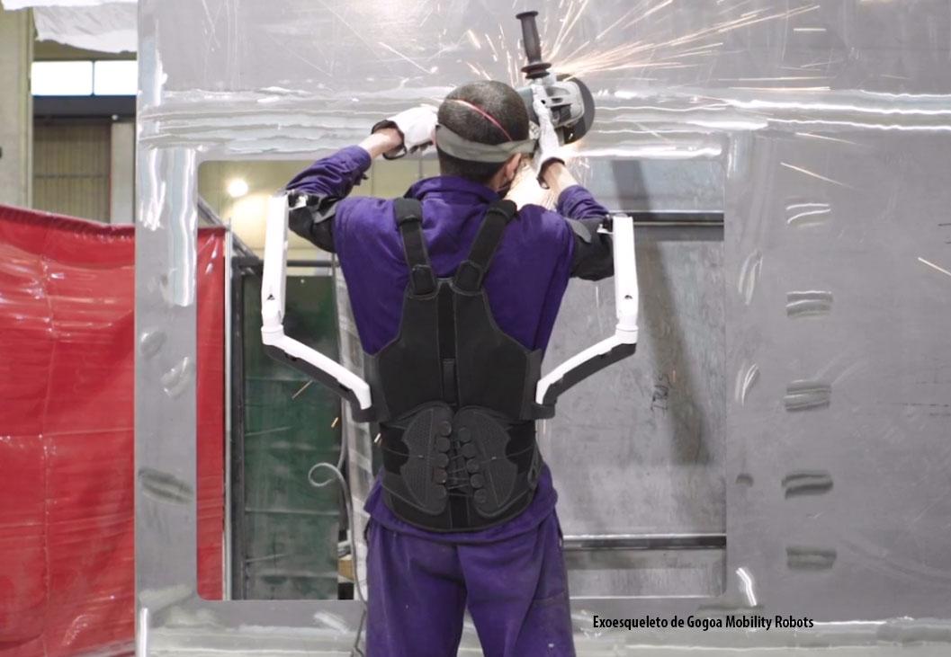 Exoesqueleto industria